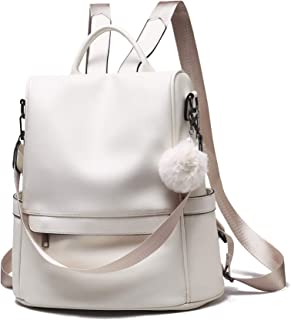 Women Backpack Purse Anti-theft Fashion Leather Large Rucksack Ladies Shoulder Bags