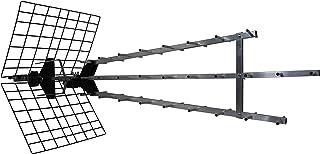 Metronic 415049 Außenantenne Trinappe verstärkt 57 dB – Filter 4G – UHF – 4K HD