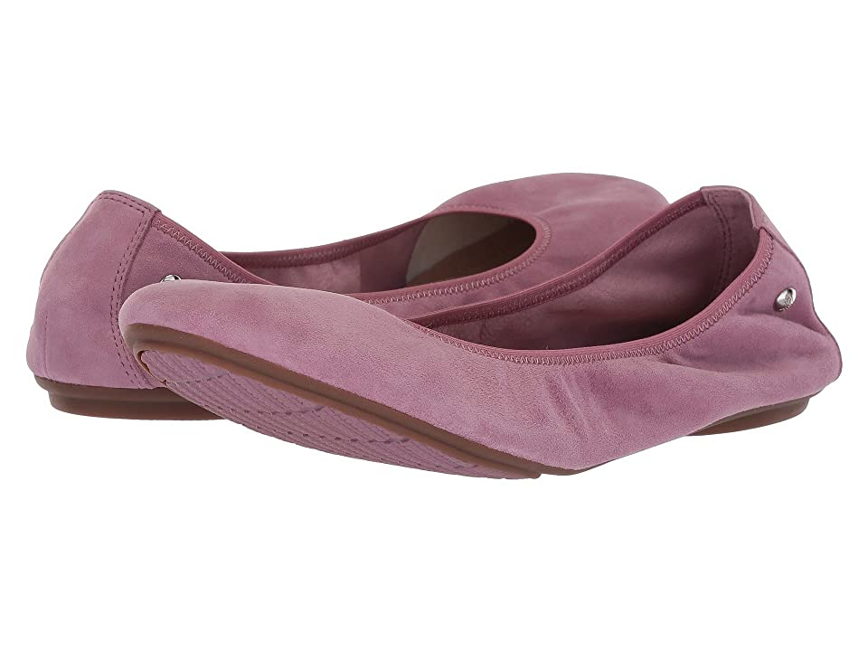 Hush Puppies Chaste Ballet (Dusty Orchid Suede) Women