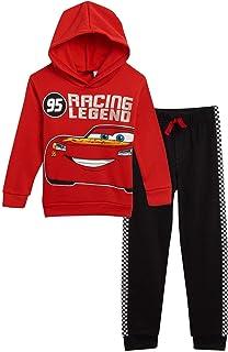 دیزنی Lightning McQueen Pullover Hoodie and Pants Set Cars Red/Black