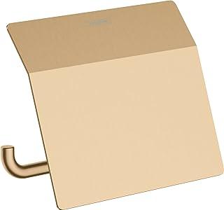hansgrohe AddStoris Porte-papier WC avec couvercle, bronze brossé, 41753140