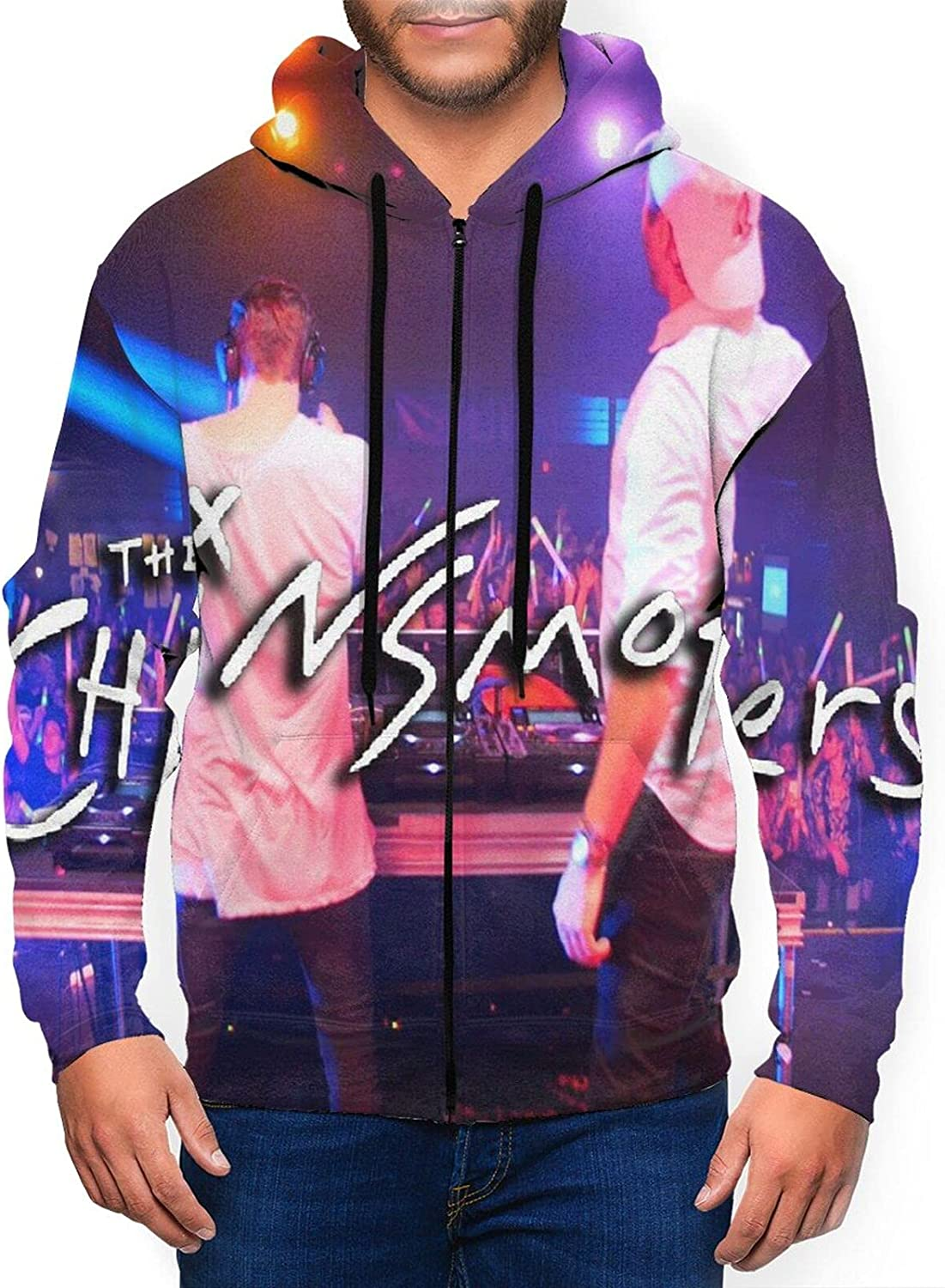 The Chainsmokers Cheap Men'S Hooded Zipper Classic Casual Super popular specialty store Jacket Shirt