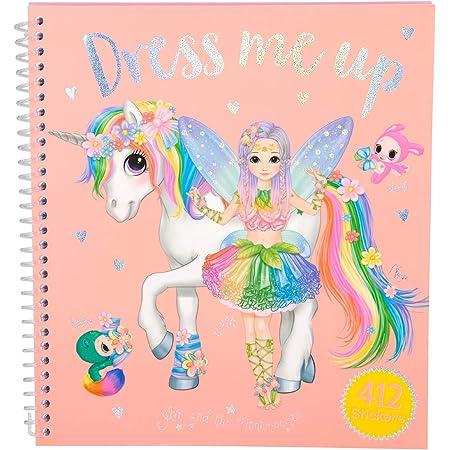 Depesche 10467 Dress Me Up Ylvi and the Minimoomis - Libro para colorear (19 x 17,7 x 1,5 cm)