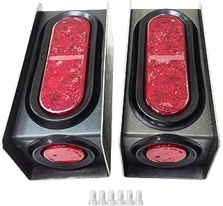 2 Steel Trailer Light Boxes w/6