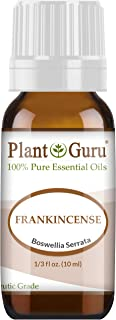 Frankincense Essential Oil 10 ml. Extract of Boswellia Serrata 100% Pure Undiluted Therapeutic Grade.