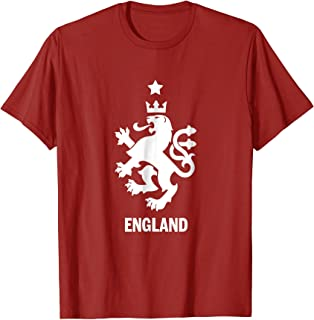 Retro England Soccer Football Jersey T Shirt Men Women Kids