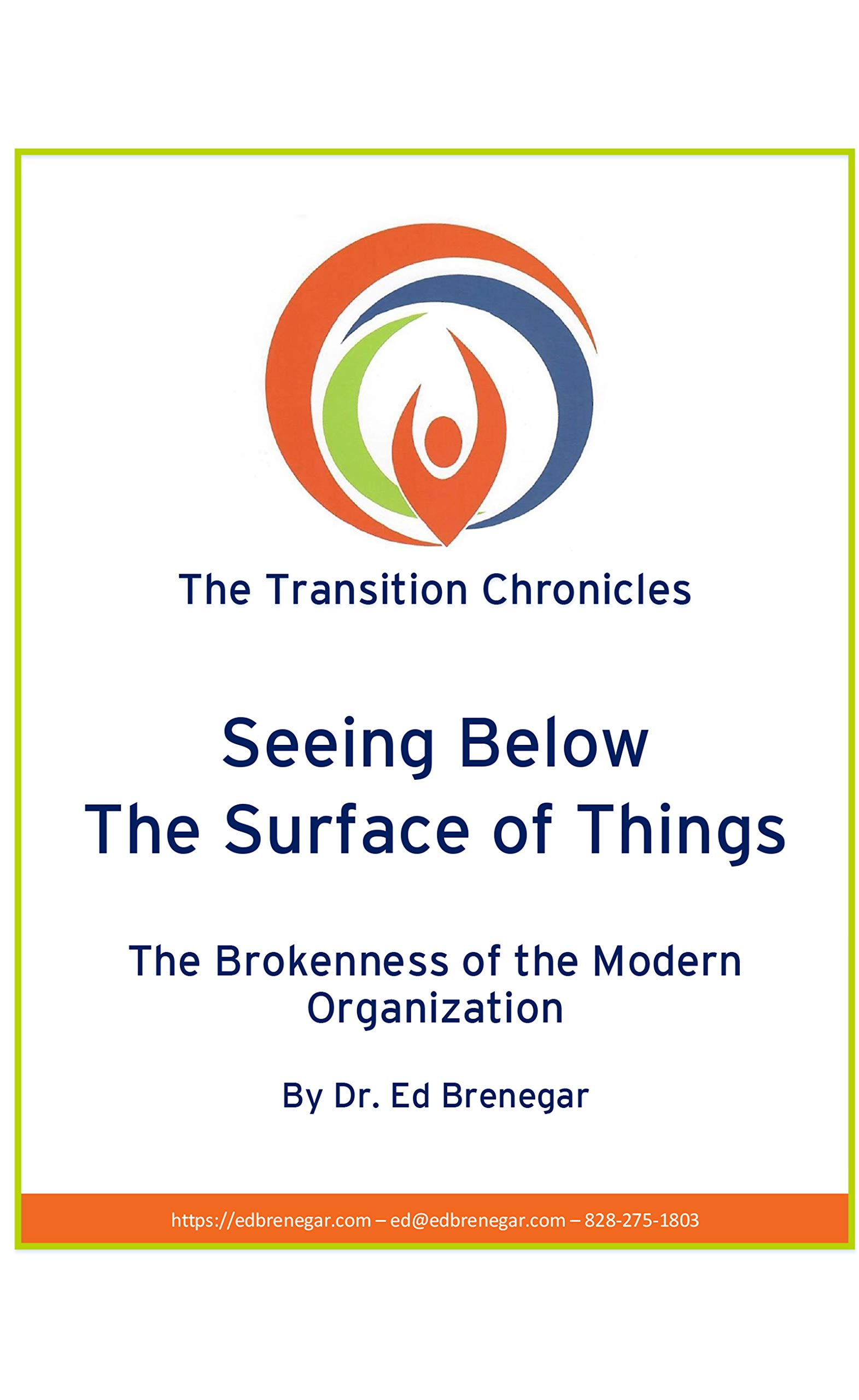 Seeing Below The Surface of Things: The Brokenness of the Modern Organization (The Transition Chronicles Book 3)