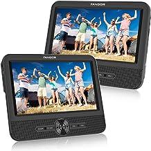 FANGOR Double Ecran 7.5'' Lecteur DVD Portable Voiture 1024 * 600 avec de..