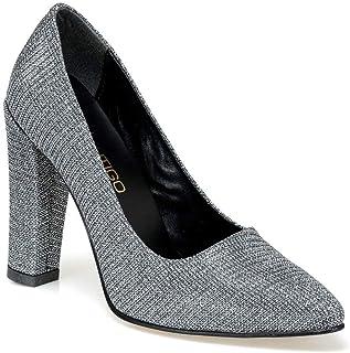 BRİGETTE Gümüş Kadın Gova Ayakkabı