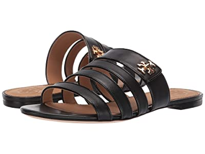 Tory Burch Kira Multi Band Sandal (Perfect Black/Perfect Black) Women