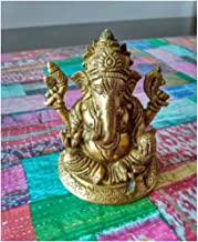Ganesha Idol Brass - Big/Medium