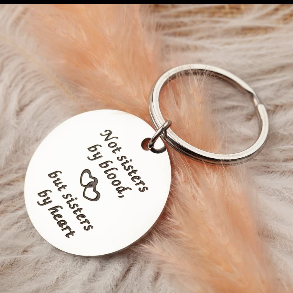 Sister Gifts Keychain Safety and Some reservation trust for Sisters In Fri Aniversary Birthday Law