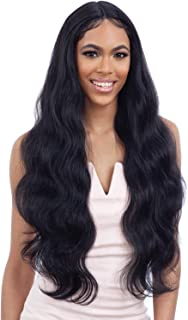 Freetress Equal Synthetic Lace Front Wig - FREEDOM PART 402 (1B Off Black)