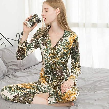 IHCIAIX Pijama de Verano para Mujer, Nuevo Conjunto de ...