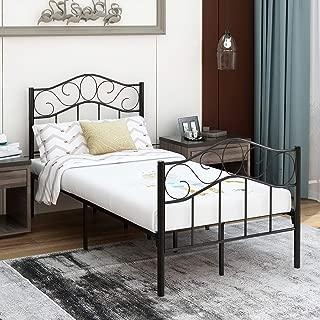 King Size Frame Bronze Beds, Storage DHP 4092249 Victoria Metal