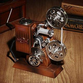 Retro Music Box avec Miroir Boîte à Bijoux en Plastique Projecteur Music Box Anniversaire Bijoux Cadeau Boîte de Rangement...