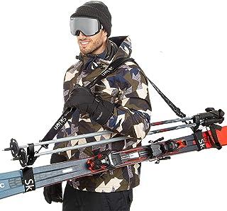 Sklon Ski Strap and Pole Carrier | Avoid The Struggle and Effortlessly Transport Your Ski..