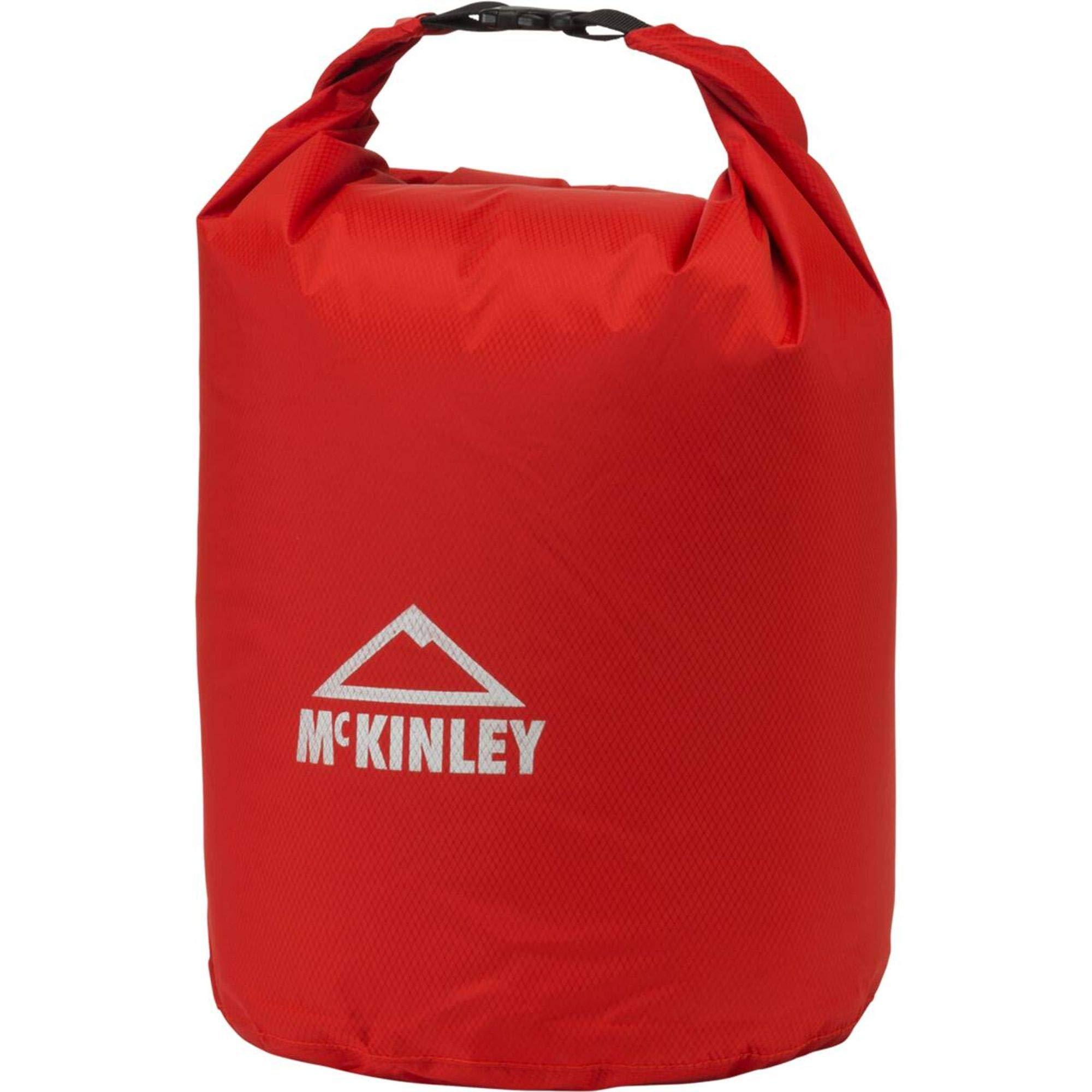 McKINLEY Packsack Leichtgewichts, rot, 25 x 51 x 10 cm