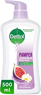 Dettol Pamper Anti-Bacterial Body Wash 500 ml - Fig & Orchid