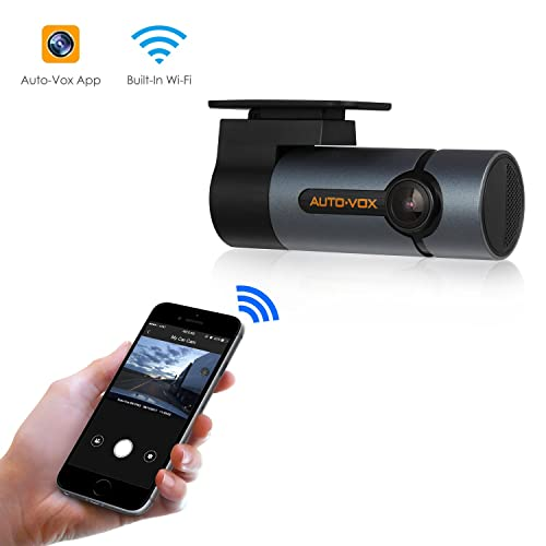 Upgraded AUTO-VOX WiFi Dash Cam D6 Pro FHD 1080P Dashboard Camera Recorder Car Dash