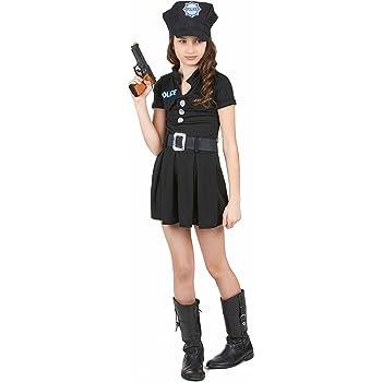 Disfraz de policía para niña: Amazon.es: Juguetes y juegos