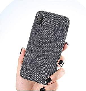 正午純粋な軽量ケースiPhone XSマックスカバー超薄型ソフトクロスシェルiPhone 6S 6 7 8プラスX XR 11プロマックスケース、iPhone 11プロ、グレー
