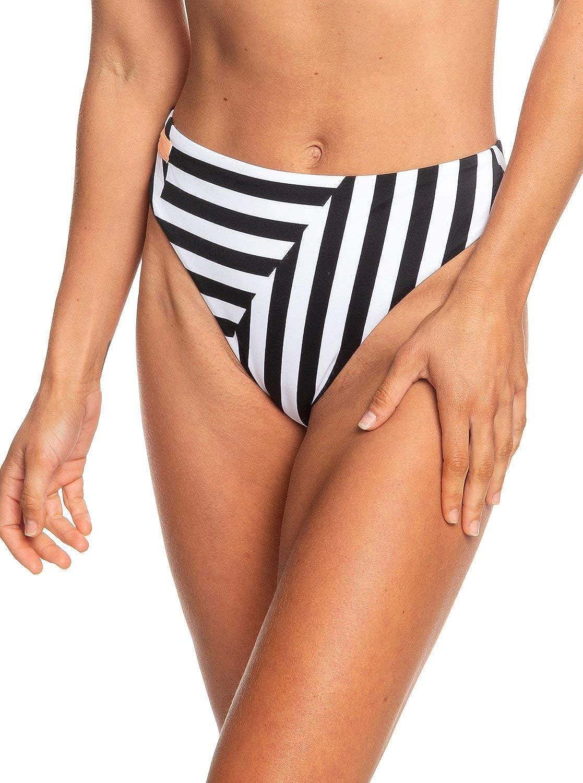 Roxy Women's Standard Pop Surf High Leg Bikini Swimsuit Bottom