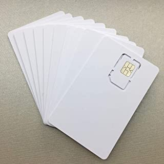 Writable Programmable Blank SIM USIM Card 4G LTE WCDMA GSM Nano Micro SIM Card 2FF 3FF 4FF for Telecom Operator by XCRFID (10pcs)