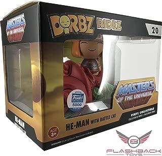 Funko DORBZ RIDEZ: HE-Man with Battle CAT