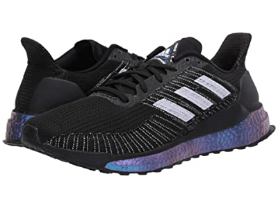 adidas Running Solar Boost 19 (Core Black/Purple Tint/Solar Red) Women