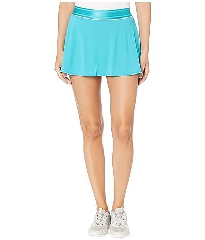 Nike Court Dry Skirt Flouncy (Teal Nebula/White/Teal Nebula) Women
