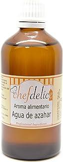 comprar comparacion Chefdelice Chefdelice Aroma Agua De Azahar Para Glaseados, Helados, Horneados Y Cremas, 100Ml Chefdelice 100 g
