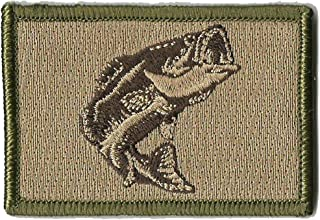 Tactical Wildlife Largemouth Bass Patch