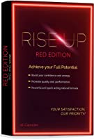 Rise Up, Red Edition Natural Energy Supplement, 1-Pack 10 Capsules