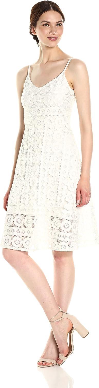 Plenty Womens Lace Midi Dress