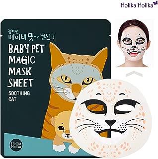 [Holika Holika] Baby Pet Magic Mask Sheet 22ml #Soothing Cat (5 Sheet)