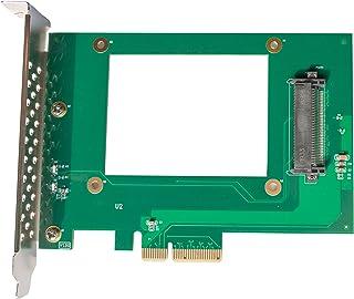 "Dilinker U.2 to PCIe Adapter - x4 PCIe - for 2.5"" U.2 NVMe SSD - SFF-8639 PCIe Adapter - U.2 SSD - PCIe SSD - U.2 Drive(PE..."