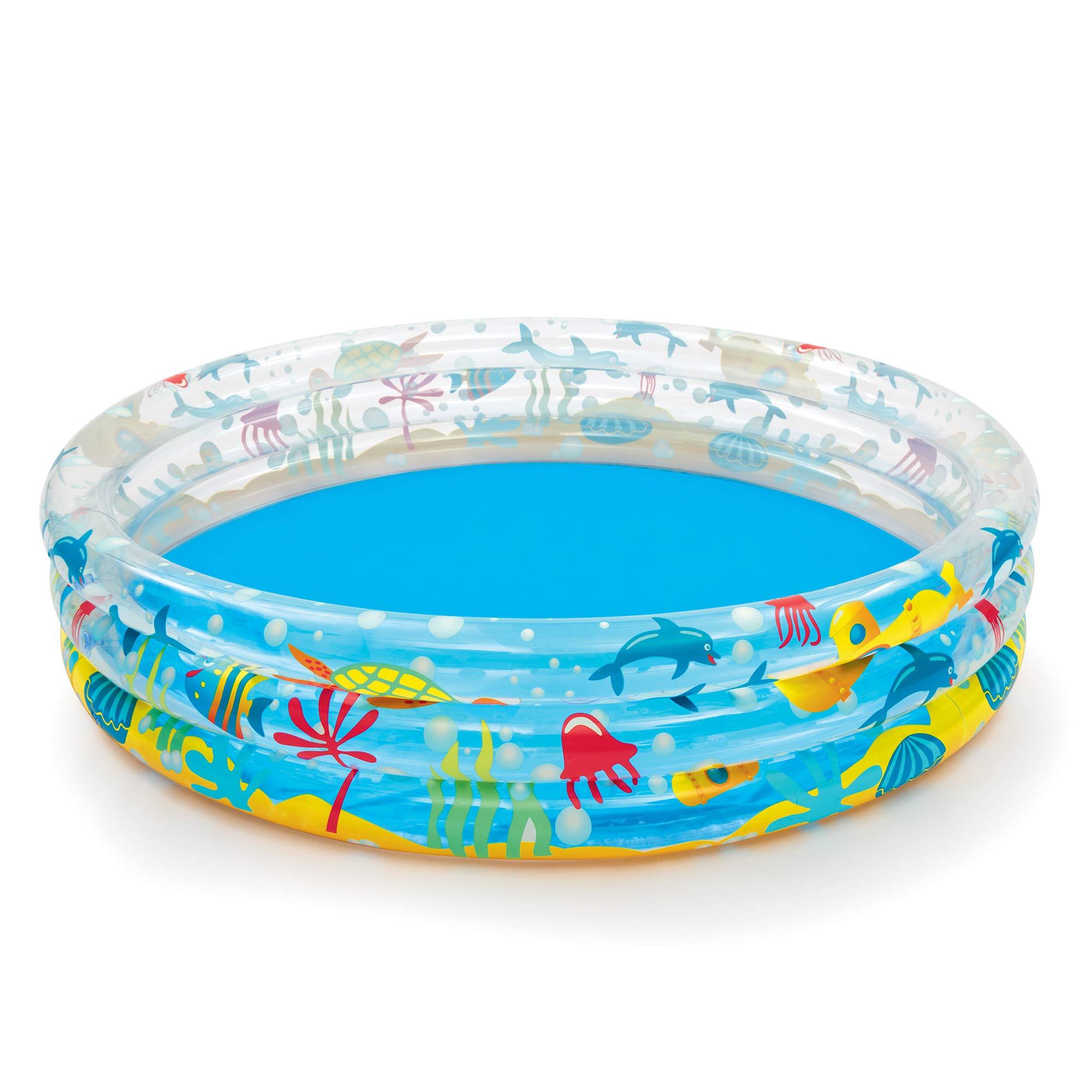 Bestway - Piscine gonflable pataugeoire ronde Deep Dive, diamètre 152 cm x 30 cm