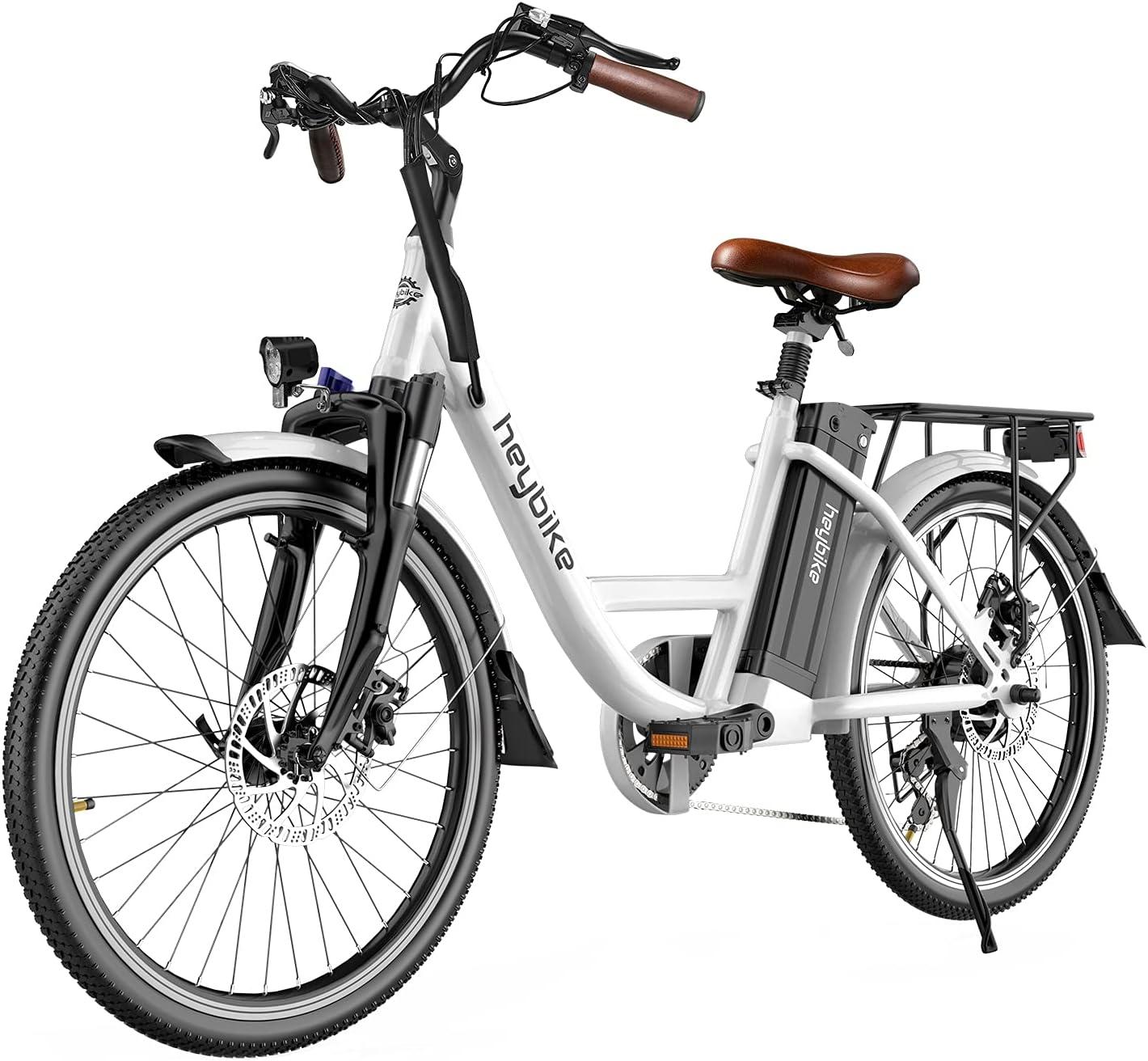 Heybike Cityscape Electric Bike 2021 autumn and winter new City Bicyc 350W Cruiser Popular product
