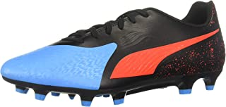 PUMA Mens One 19.4 Firm Ground/Artificial Grass Soccer Athletic Cleats,