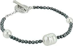 Majorica - Baroque Pearl Hematite Bracelet
