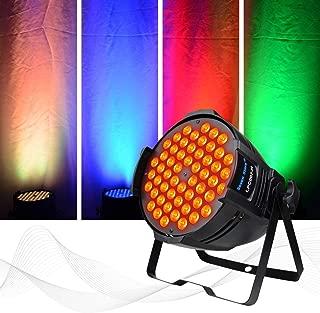 SevenStars Stage Light 180W DJ PAR Light Daisy-Chain Full RGB LED Wash Light for Wedding,Stage Show,Concert,Theater etc. Performance Venues
