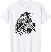 Zebra Portrait Shirt Striped Wild Horse - Zebra T-Shirt