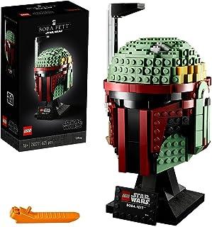 LEGO Star Wars Hełm Boby Fetta 75277 — zestaw konstrukcyjny, fajny model kolekcjonerski Star Wars do zbudowania (625 eleme...