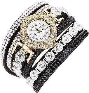 Oliviavan,Women Fashion Casual Analog Quartz Women Rhinestone Watch Bracelet Watch Gift special bracelet