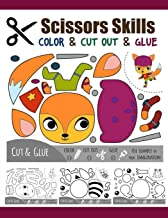 Scissors Skill Color & Cut out and Glue: 50 Cutting and Paste Skills Workbook, Preschool and Kindergarten, Ages 3 to 5, Scissor Cutting, Fine Motor Skills, Hand-Eye Coordination Let's Cut Paper! PDF