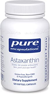 Pure Encapsulations Astaxanthin | Antioxidant Supplement for Joints, Skin and Eye Health, and Free Radicals* | 120 Softgel...