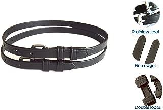 SIE Premium Leather Spur Straps- Adult