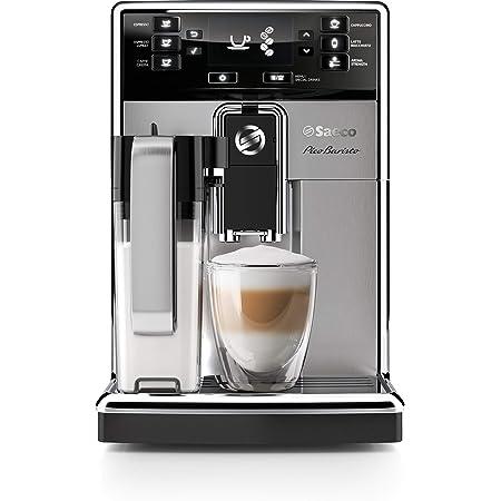Saeco PicoBaristo Super Automatic Espresso Machine, 1.8 L, Stainless Steel, HD8927/47