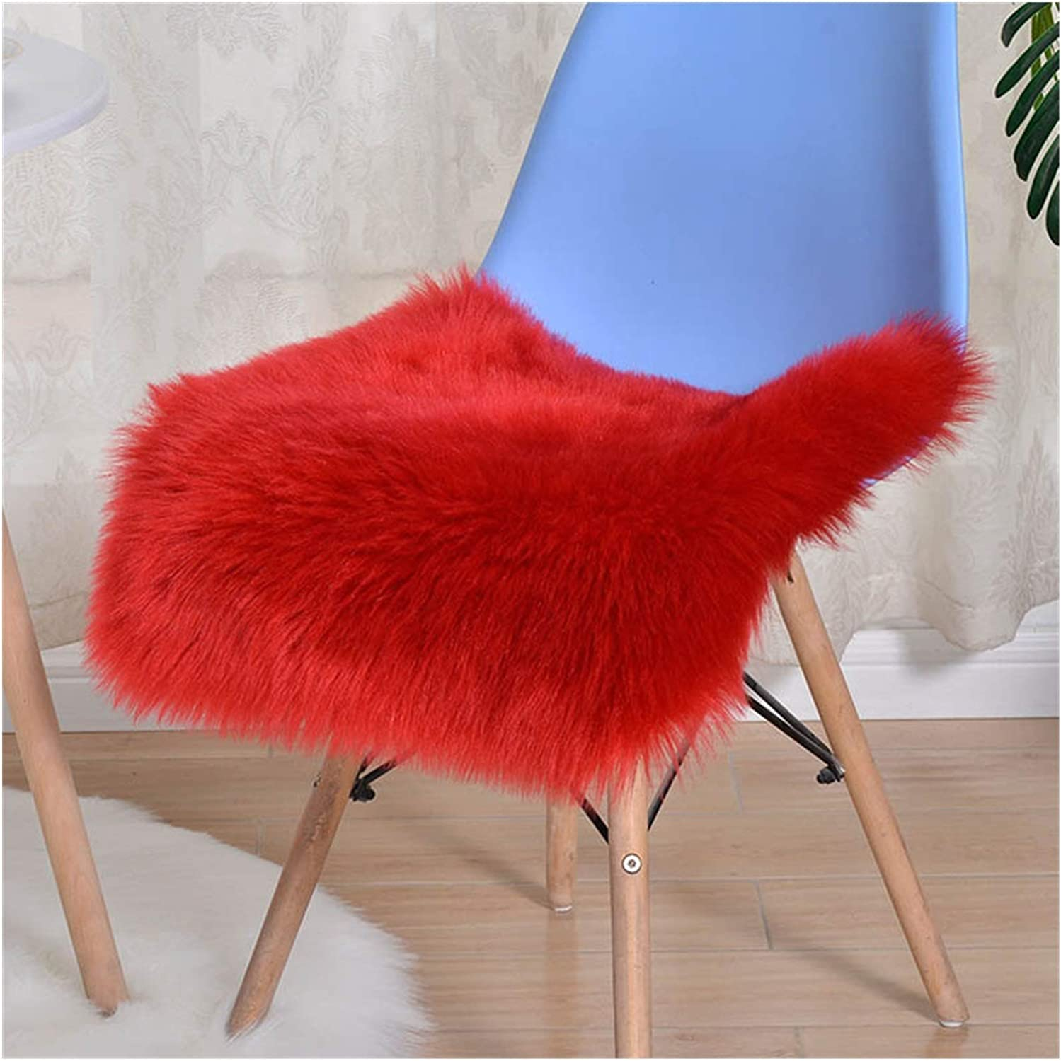 ZCPCS Candy price Color Max 54% OFF Cushion for Sofa Seat C Red Chair Office Couch